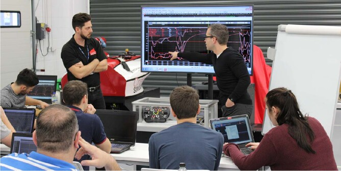 Students will be taught by renowned Race Engineers